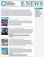 Welcome to the first edition of INSOR E-News